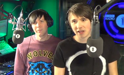 Dan and Phil Radio 1 show best bits - WATCH