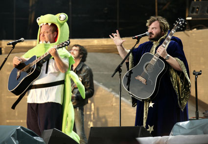 Tenacious D's Jack Black and Kyle Gass plan comedy rock festival Supreme with Tim Minchin, Flight of the Conchords, zach Galifianakis