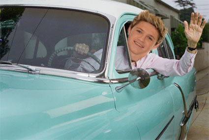 Niall horan driving