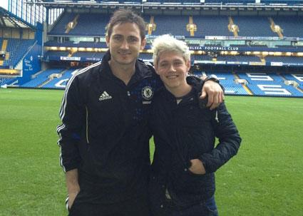 Niall Horan Frank Lampard