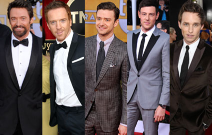 SAG awards hot guys