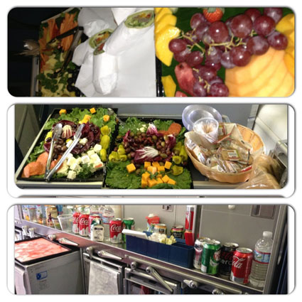 rihanna 777 tour food
