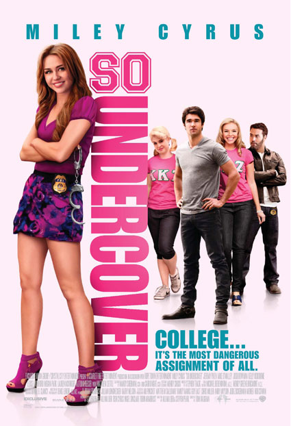 miley cyrus so undercover official poster