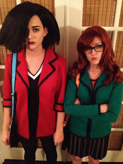 katy pery shannon woodward daria fancy dress halloween costumes