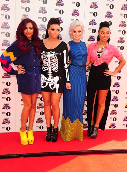 teen awards little mix red carpet