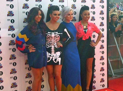 little mix teen awards red carpet
