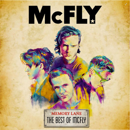 mcfly memory lane album artwork