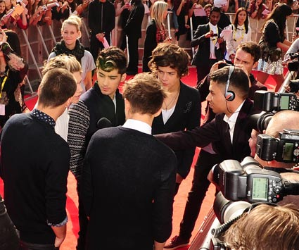 one direction radio 1 teen awards