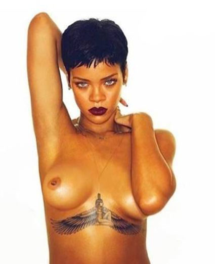 rihanna unapologetic topless picture