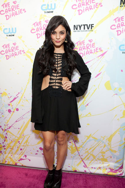 vanessa hudgens the carrie diaries premiere