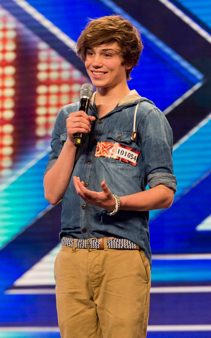 X Factor's George Shelley from Union J is really quite fit. We fancy him.