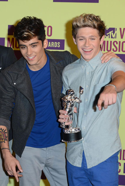 Zayn Malik and Niall Horan bond over farts
