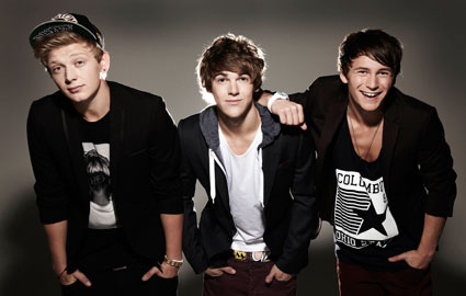 X Factor's Union J and District 3 lose their beauty virginity