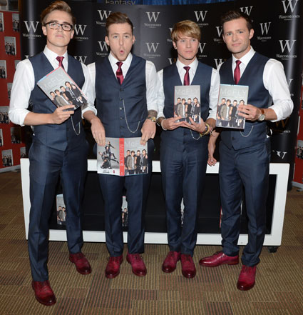 Mcfly unsaid things book