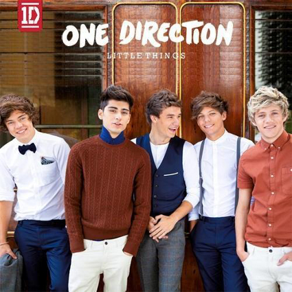 One Direction preiew the artwork for new single Little Things, the second release off new alum Take Me Home