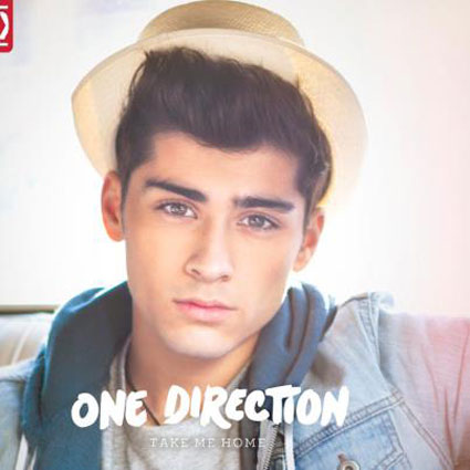 One Direction preview individual album covers for Take Me Home - PICS