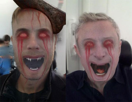 Union J give the X Factor a halloween, zombie themed make over.. - PICS