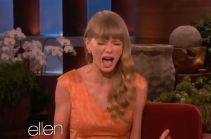 Taylor Swift plays guess the boyfriend with Ellen DeGeneres on The Ellen Show - VIDEO.