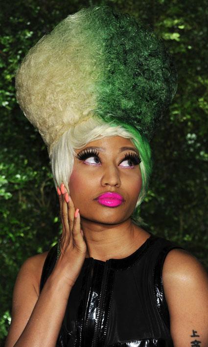 Nicki Minaj Reveals Real Hair  Fun Friday  YouTube