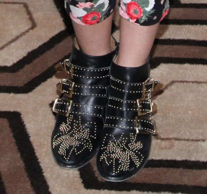 shenae grimes studded ankle boots
