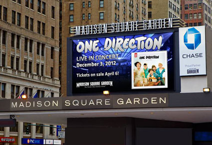 one direction madison square garden