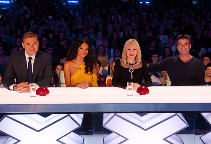 britains got talent audition judges