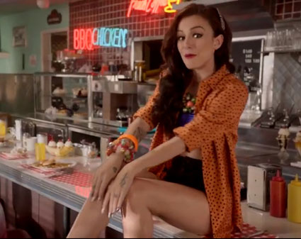cher lloyd want u back video