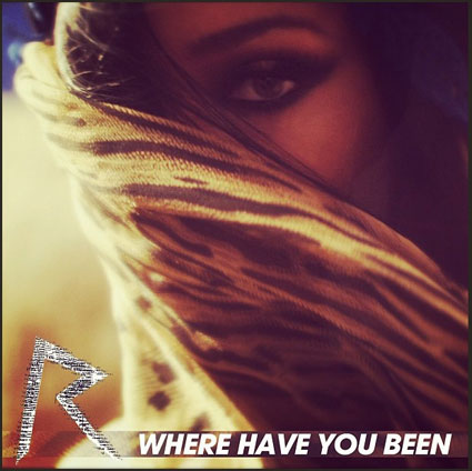 Rihanna releases pic from the Where Have You Been video