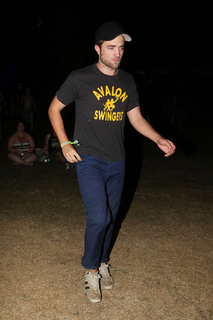 robert pattinson at coachella 2012