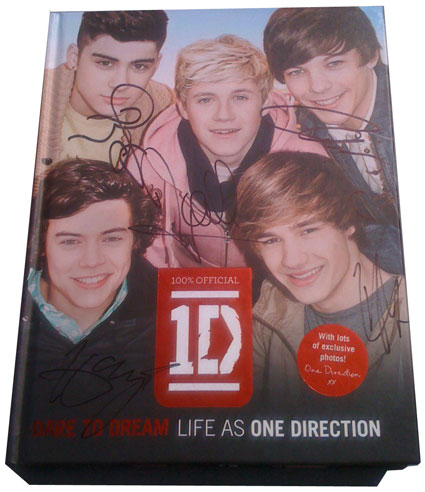 WIN a signed copy of One Direction's Dare To Dream