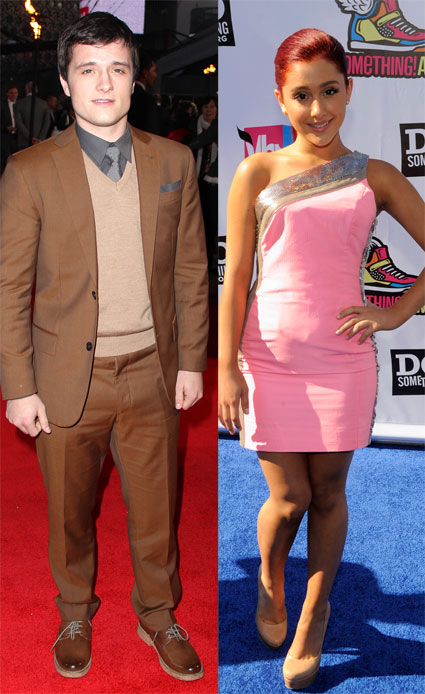 Josh Hutcherson dating Victorious star Ariana Grande?