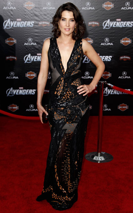 Colbie Smulders at the Avengers Assemble premiere in Hollywood