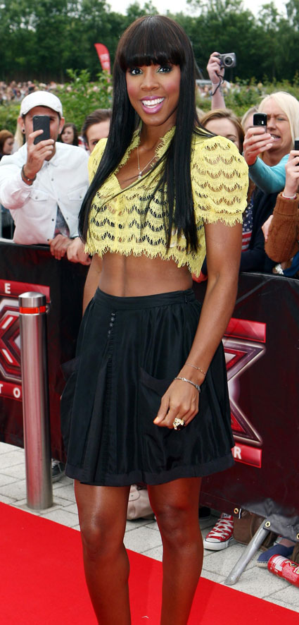 Kelly Rowland feels stitched up by exit from the x factor