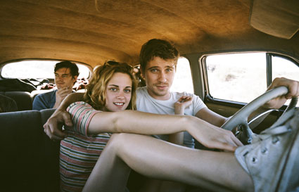 Kristen Stewart in On the Road new film