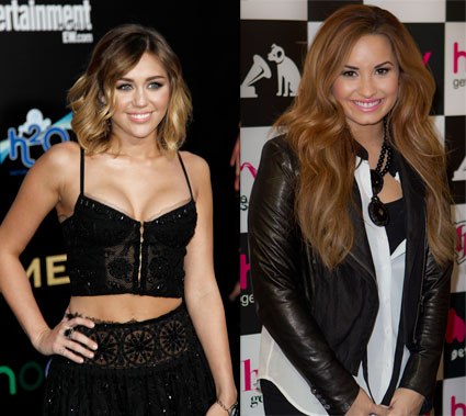Miley Cyrus and Demi Lovato tipped for X Factor USA