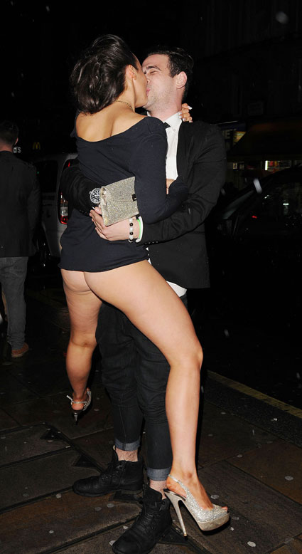 Steph Davis Hollyoaks flashes her entire bum