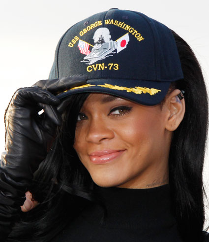 Rihanna was intimidated by filming battleship