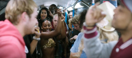 Alexandra Burke's new music video Let It Go