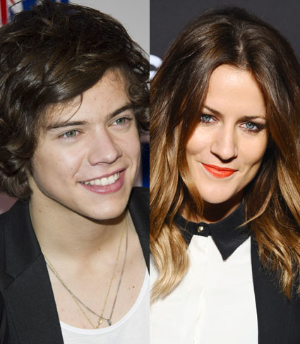 Harry Styles and Caroline Flack rumours
