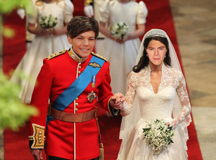 Harry Styles and Louis Tomlinson tie the knot!