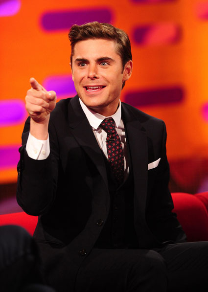 Zac Efron on the Graham Norton show