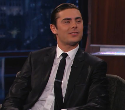 Zac Efron on Jimmy Kimmel