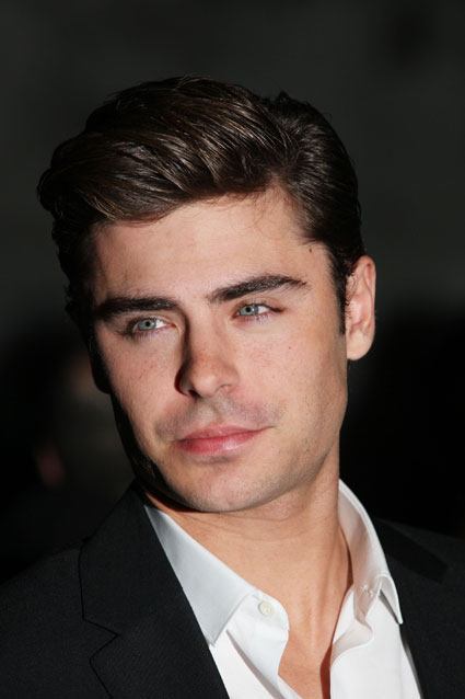 Zac Efron at the NY Premiere of The Lucky One