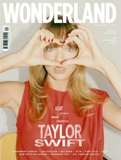taylor swift wonderland magazine