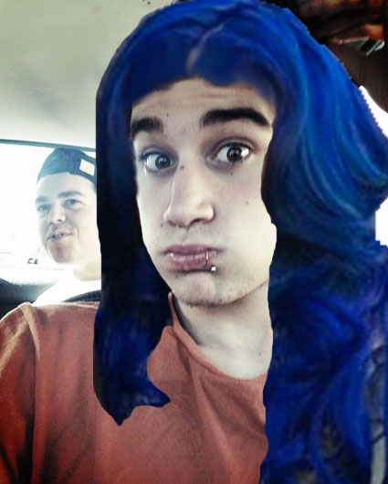 luke brooks hair