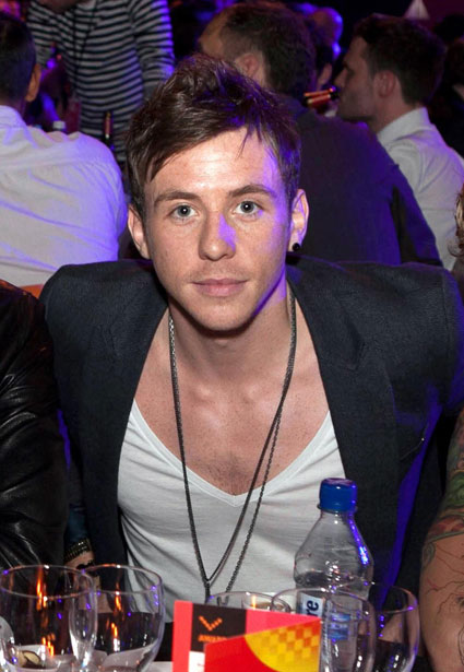Danny Jones from boyband McFly