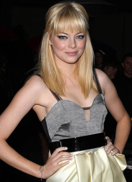 Emma Stone is up against the likes of Angelina Jolie and Anne Hathaway,
