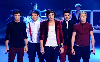 One Direction on Children In Need 2011