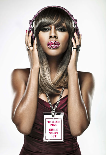 Alexandra Burke for Tickled Pink 2011