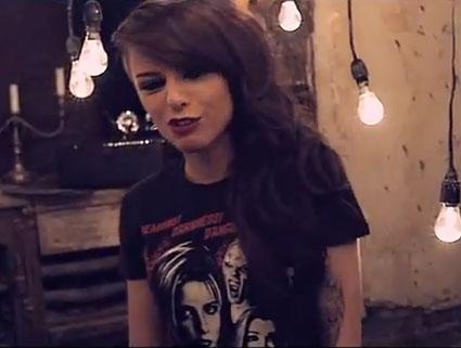 Cher Lloyd Dub On The Track video grab